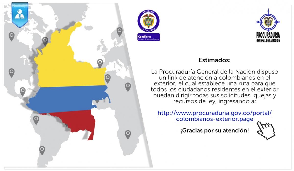 Link de atenci n de la procuradur a general de la naci n a Divorcio de colombianos en el exterior